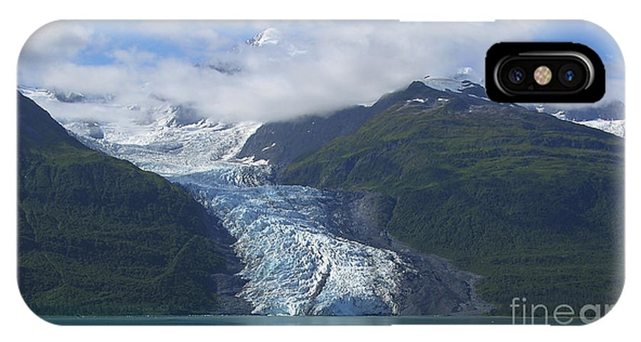Glacier Bay IPhone X Case featuring the photograph Glacier Bay Afternoon by Sandra Bronstein