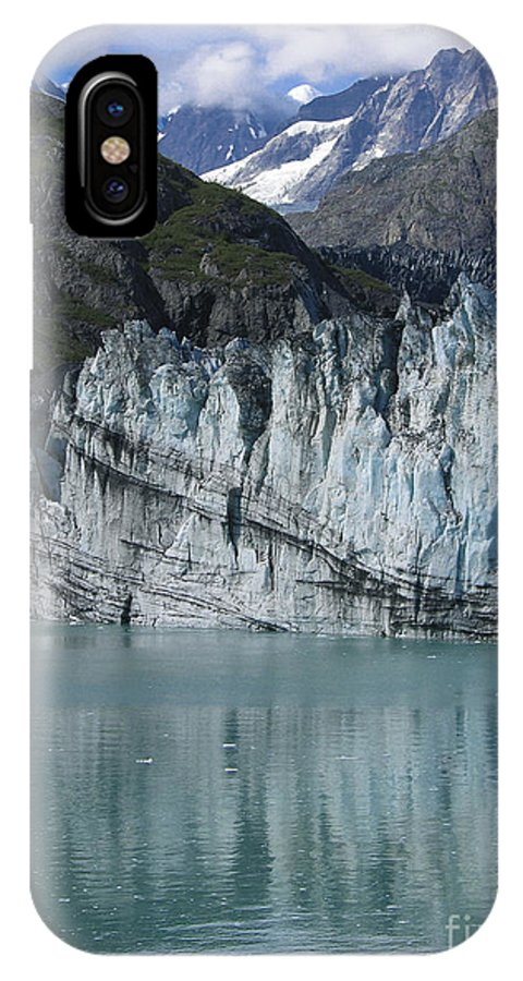 Glacier Bay IPhone X / XS Case featuring the photograph Glacier Bay Majesty by Sandra Bronstein