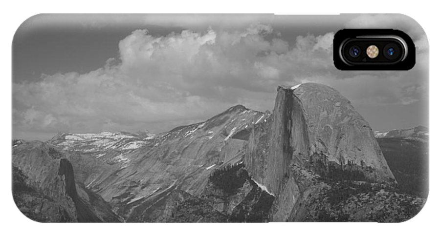 Half Dome IPhone X Case featuring the photograph Glacier Point by Travis Day
