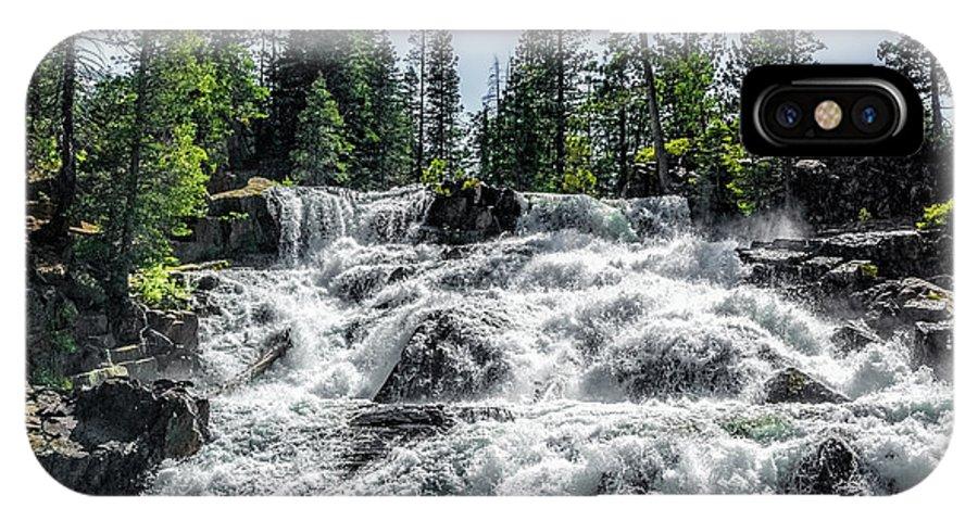 California IPhone X Case featuring the photograph Glen Alpine Falls 7 by Joe Lach