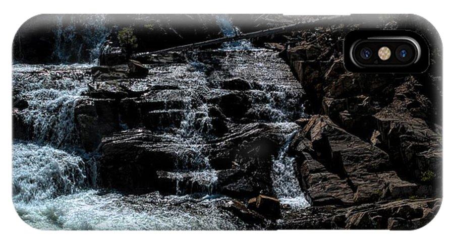 California IPhone X Case featuring the photograph Glen Alpine Falls 8 by Joe Lach