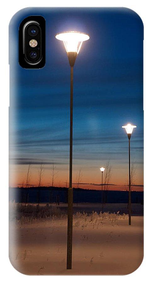 Talvi IPhone X / XS Case featuring the photograph Global Warming by Jouko Lehto