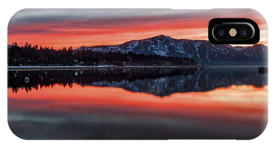 Glow IPhone X Case featuring the photograph Glow by Mitch Shindelbower