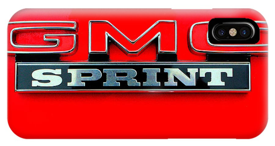 Gmc Sprin Tcoupe IPhone X / XS Case featuring the photograph Gmc Sprint 001 by Jeff Stallard