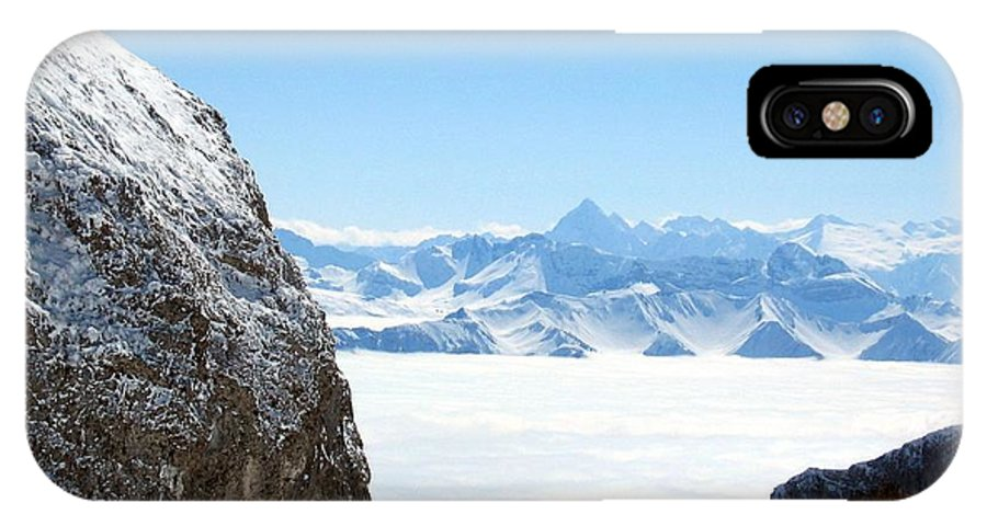 Landscape IPhone Case featuring the photograph God's Window by Dylan Punke