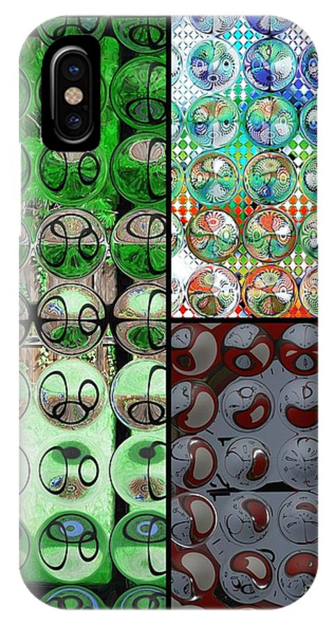 Circles IPhone X / XS Case featuring the photograph Going In Circles by Donna Bentley