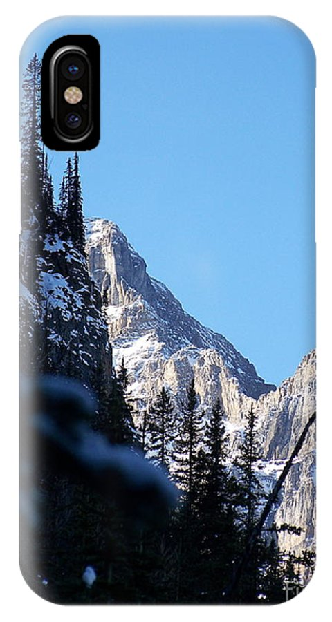 Narrow IPhone X Case featuring the photograph Going Up by Greg Hammond