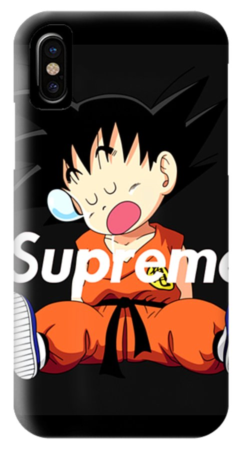dragon ball kid goku sleep iphone case