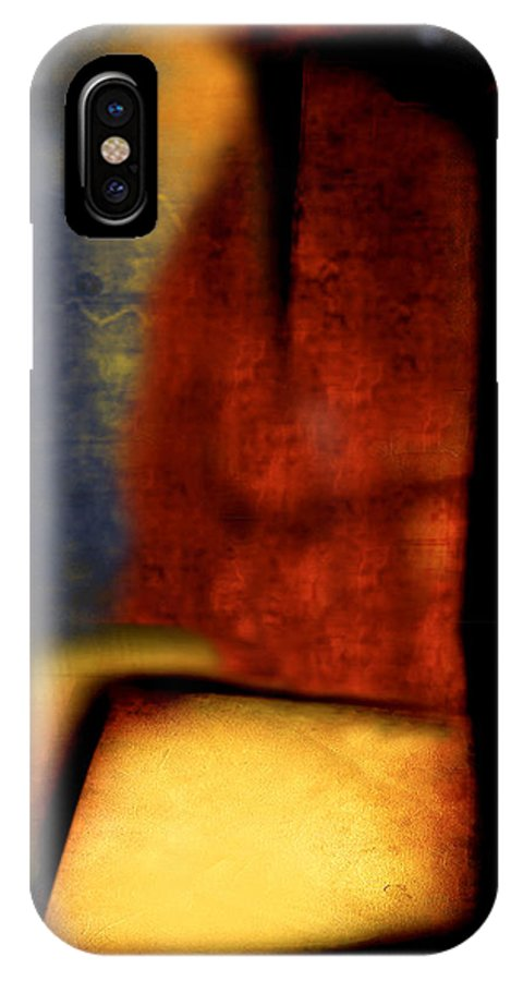 Golf IPhone X Case featuring the painting Golf by Jill English