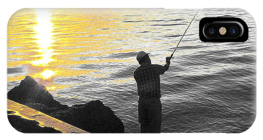 Fishing IPhone Case featuring the photograph Gone Fishing by Larry Keahey