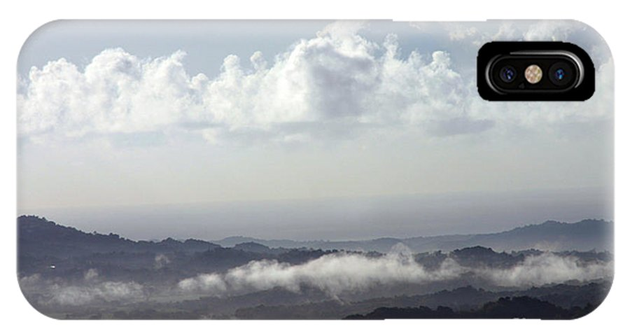 Mountains IPhone X Case featuring the photograph Good Morning Puerto Rico by Gilberto Marcano