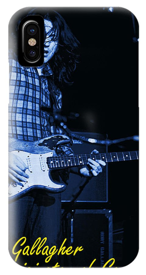 Rock Musicians IPhone X Case featuring the photograph Good Taste by Ben Upham