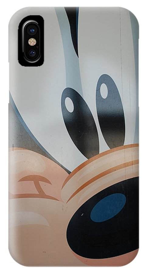 Disney IPhone Case featuring the photograph Goofy by Rob Hans