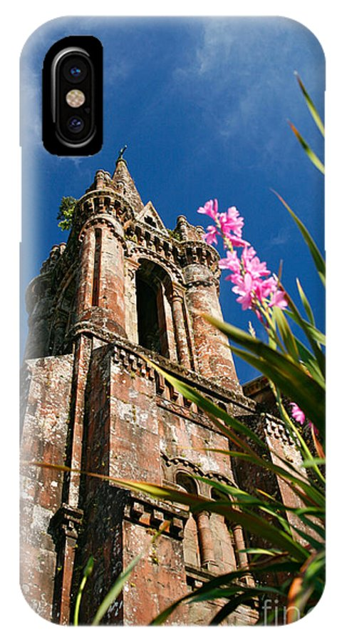Architecture IPhone Case featuring the photograph Gothic Chapel by Gaspar Avila