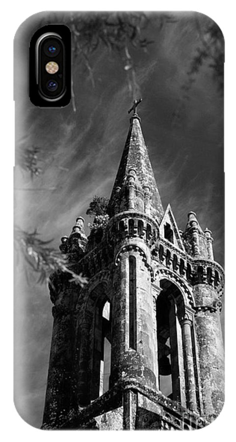 Azores IPhone X Case featuring the photograph Gothic Style by Gaspar Avila