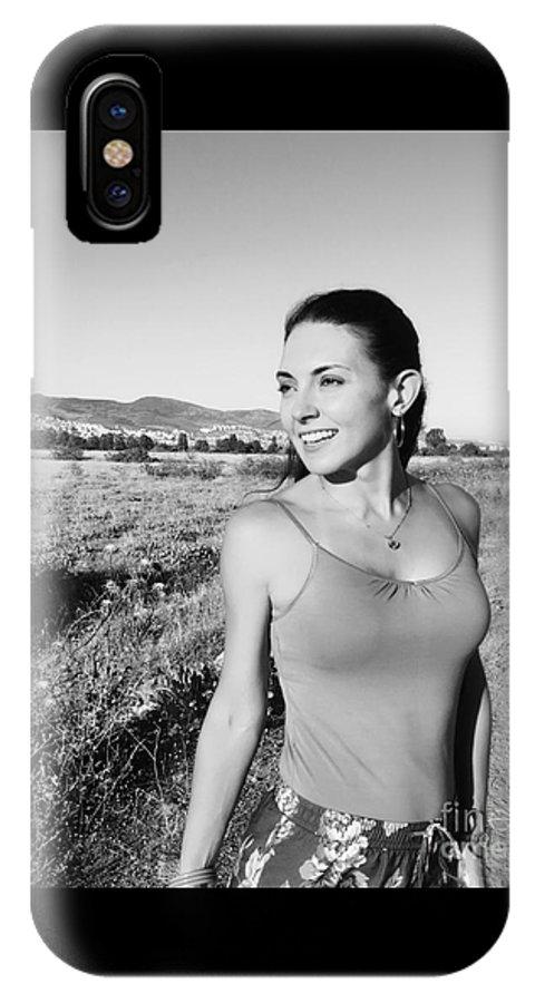 Portrait IPhone X Case featuring the photograph Grace by Bora Denker