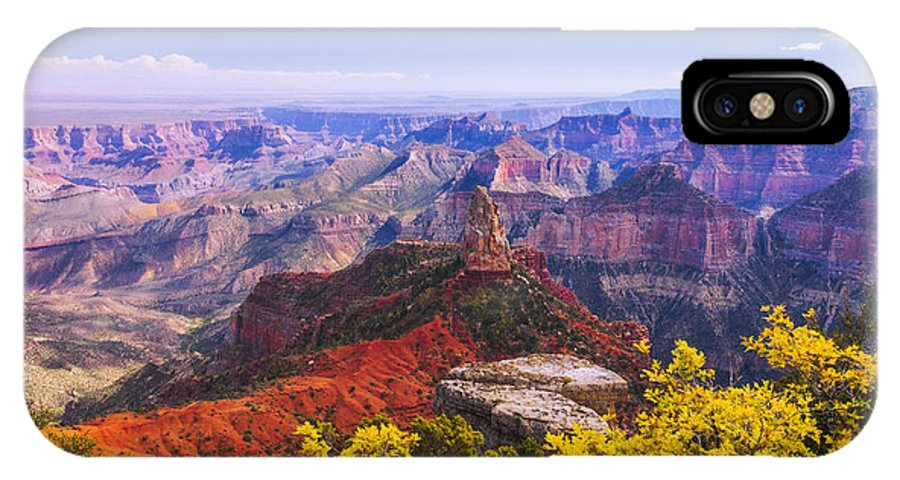 Grand Arizona IPhone X Case featuring the photograph Grand Arizona by Chad Dutson