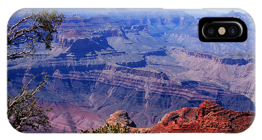Photography IPhone X Case featuring the photograph Grand Canyon View by Susanne Van Hulst