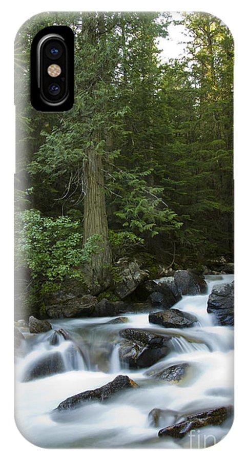 Granite Creek IPhone X Case featuring the photograph Granite Creek by Idaho Scenic Images Linda Lantzy
