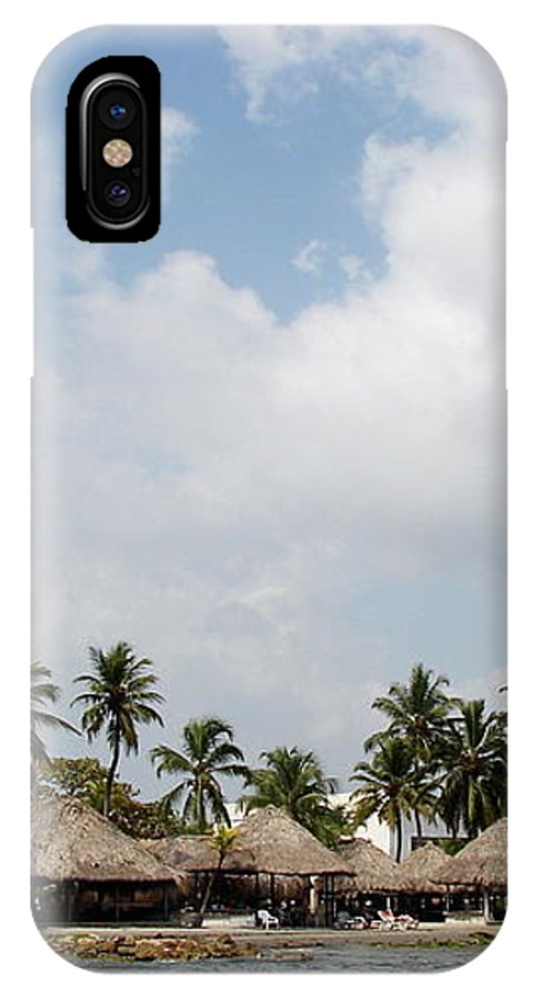 Grass IPhone X Case featuring the photograph Grass Huts Colombia II by Brett Winn