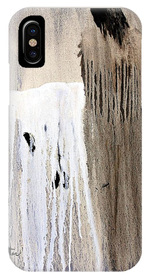 Native American IPhone Case featuring the painting Great Spirit by Patrick Trotter