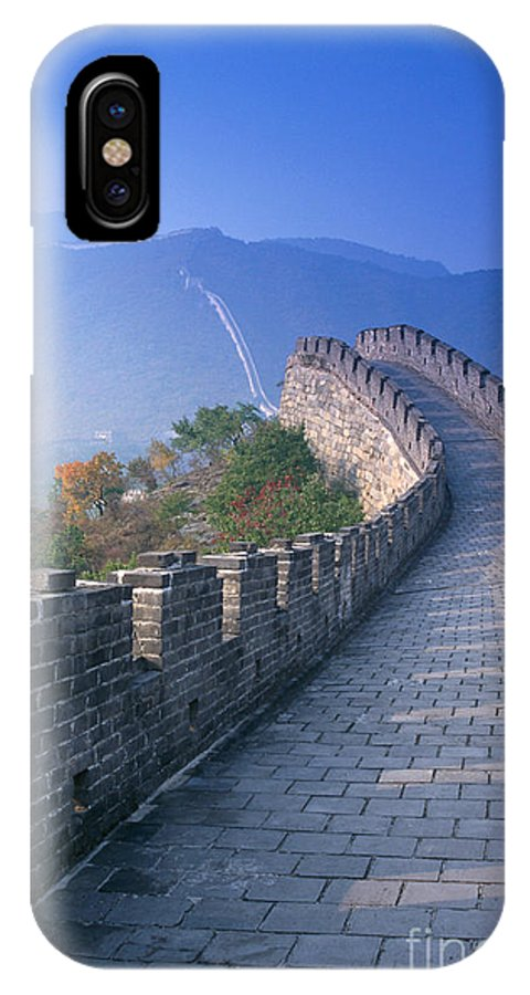 Asian Art IPhone X Case featuring the photograph Great Wall of China by Gloria and Richard Maschmeyer - Printscapes