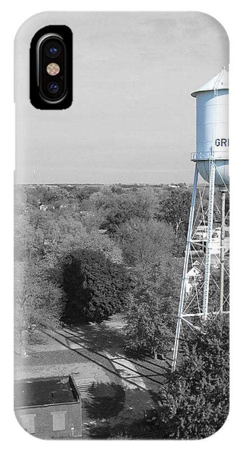 Landscape IPhone X Case featuring the photograph Gridley by Dylan Punke