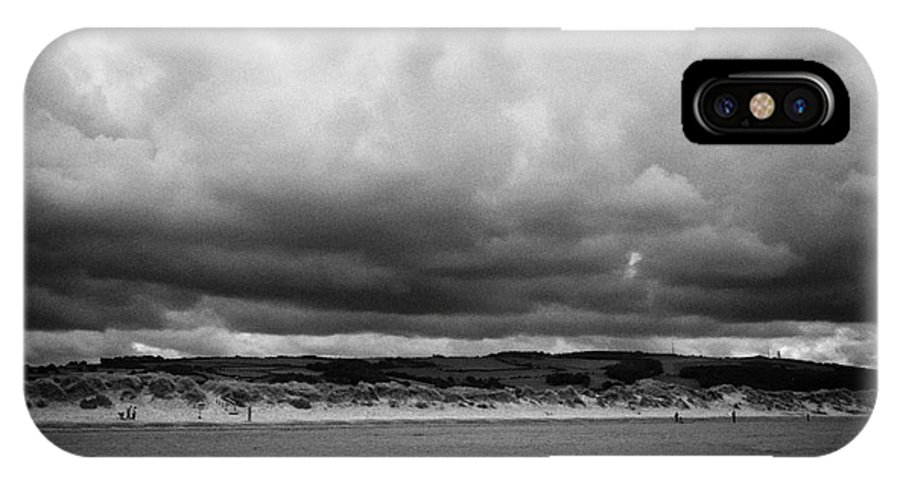 Talacre IPhone X / XS Case featuring the photograph gronant dunes near Talacre beach sssi north wales uk by Joe Fox