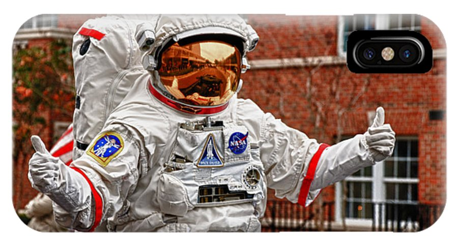 Nasa IPhone X Case featuring the photograph Ground Control To Major John by Frank Feliciano