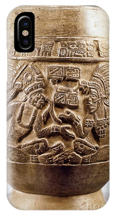 900 IPhone X Case featuring the photograph Guatemala: Mayan Vase by Granger