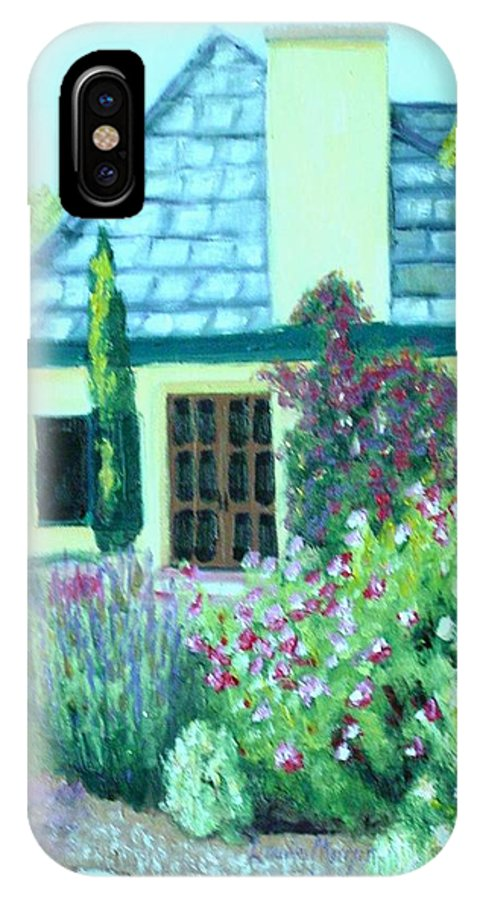 Cottage IPhone Case featuring the painting Guest Cottage by Laurie Morgan
