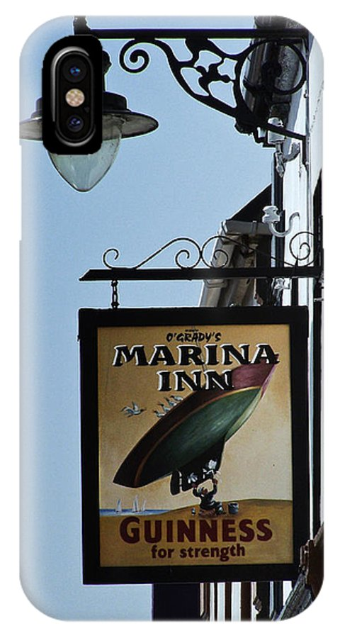 Irish IPhone Case featuring the photograph Guinness For Strength Dingle Ireland by Teresa Mucha