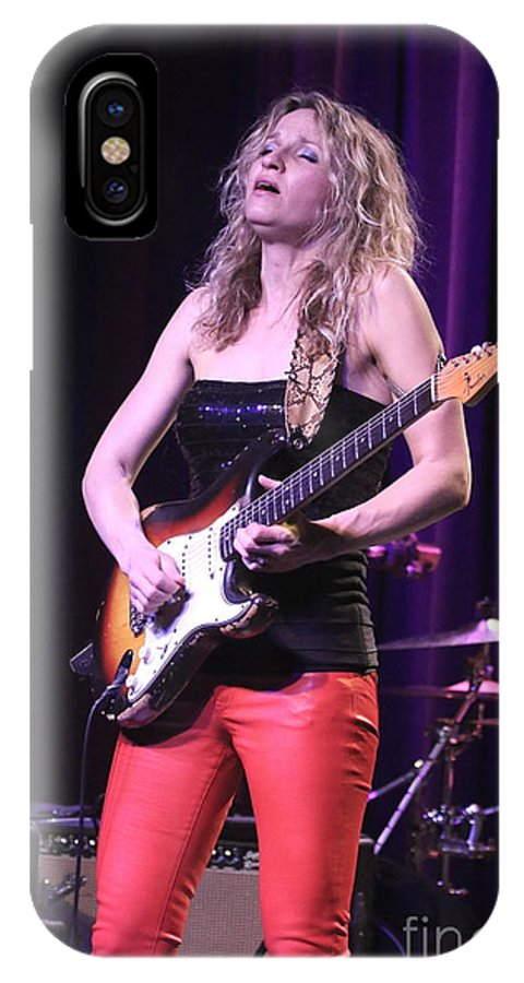 Guitarist IPhone X Case featuring the photograph Guitarist Ana Popovic by Concert Photos
