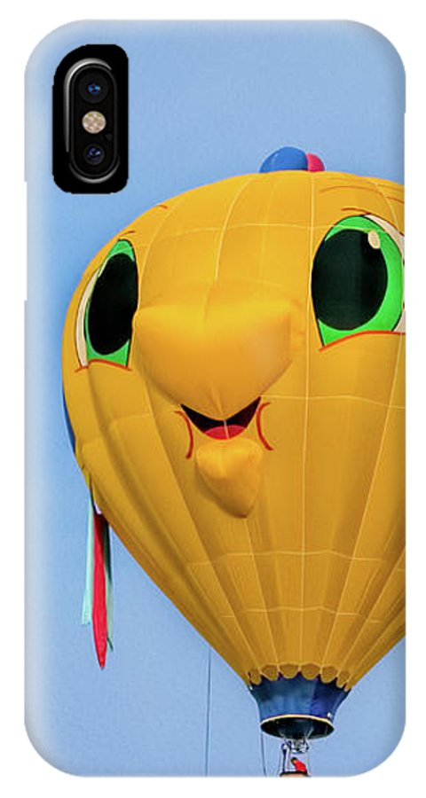 Gus T Guppy IPhone X Case featuring the photograph Gus T Guppy by Bob Orsillo