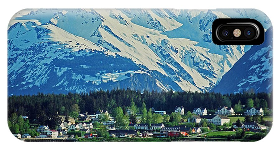 North IPhone X Case featuring the photograph Haines - Alaska by Juergen Weiss