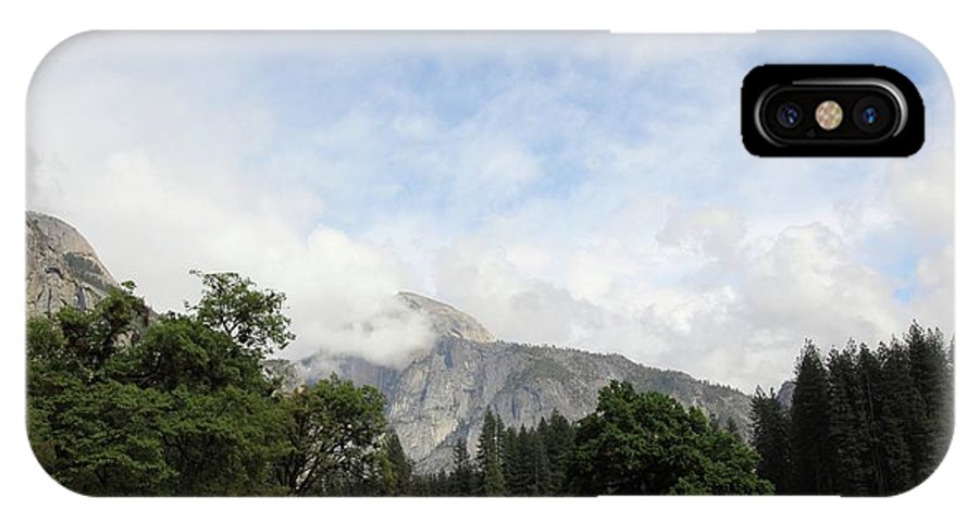 Yosemite IPhone X Case featuring the photograph Half Dome Yosemite National Park by Robin Weir