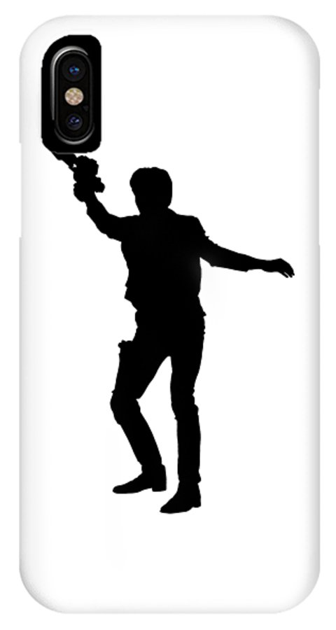 the latest b4abe 80ef4 Han Solo Star Wars Tee IPhone X Case