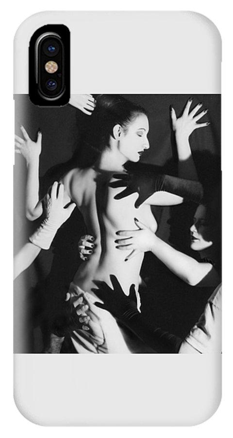 Survivor Art IPhone X Case featuring the photograph Hands Upon Me by Jaeda DeWalt