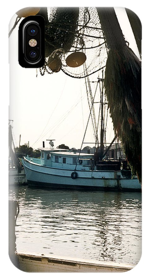 Harbor IPhone Case featuring the photograph Harbor Boats by Douglas Barnett