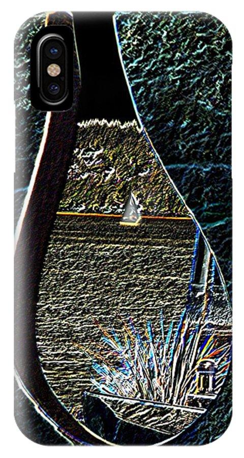 Bremerton IPhone X Case featuring the photograph Harborside Fountain Park Bremerton Wa 2 by Tim Allen