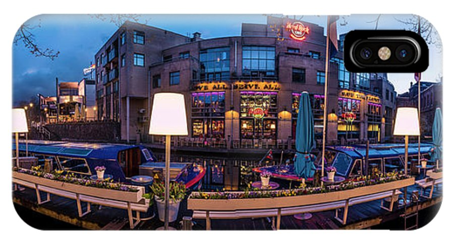 Urban Landscapes IPhone X / XS Case featuring the photograph Hardrock Cafe by Michael Harris