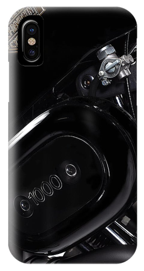Harley Davidson IPhone X / XS Case featuring the photograph Harley Davidson 1000 by Mark Rogan