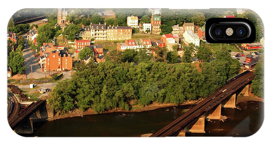 Harpers Ferry IPhone X Case featuring the photograph Harpers Ferry by Mitch Cat