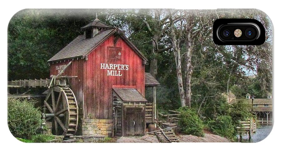 Walt Disney World IPhone X Case featuring the photograph Harpers Mill by Stuart Rosenthal