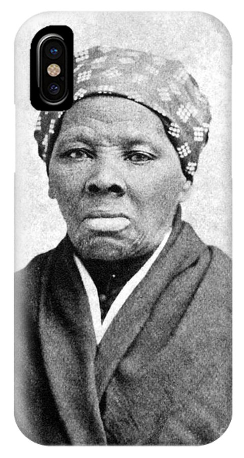 1895 IPhone X Case featuring the photograph Harriet Tubman 1823-1913. To License For Professional Use Visit Granger.com by Granger