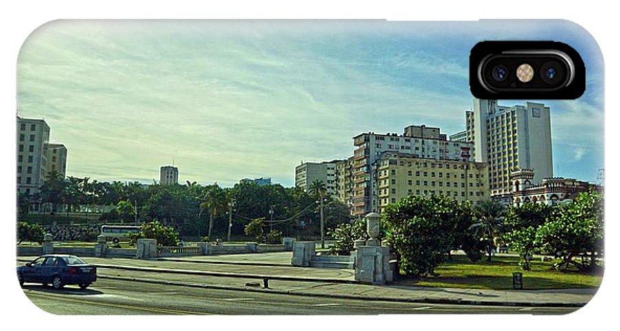 Havana IPhone X Case featuring the photograph Havana-43 by Rezzan Erguvan-Onal