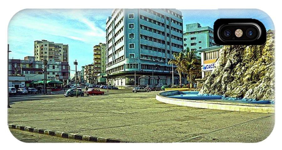 Havana IPhone X Case featuring the photograph Havana-44 by Rezzan Erguvan-Onal