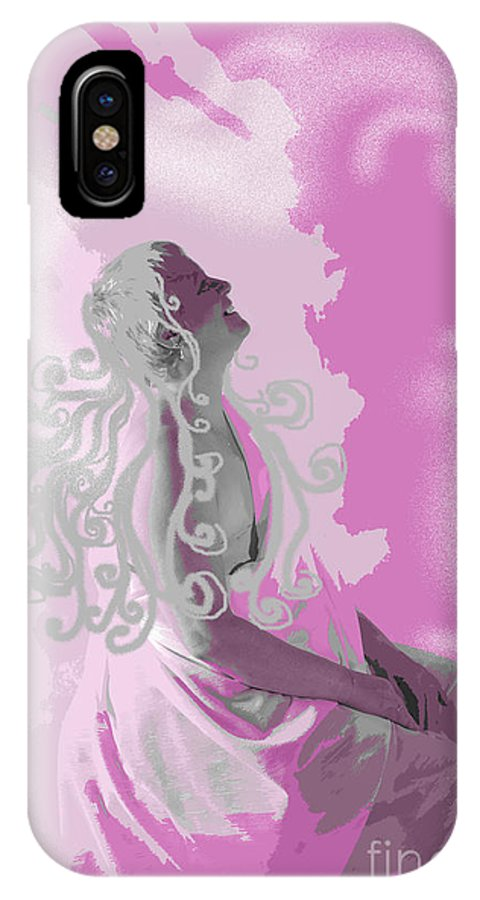 Healing IPhone Case featuring the digital art Healing Journey by Jacqueline Milner