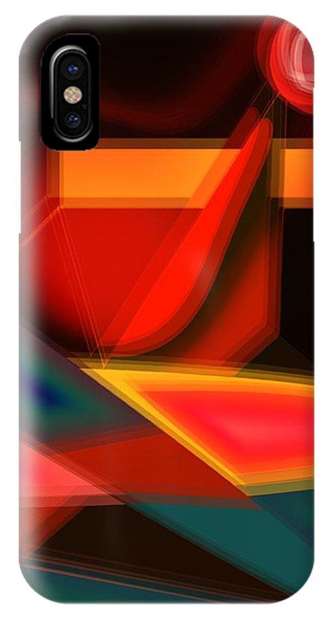 Heartbeat IPhone Case featuring the digital art Heartbeats by Helmut Rottler