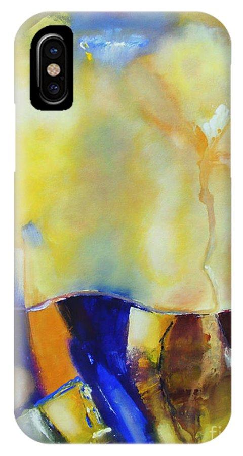 Heaven IPhone X Case featuring the painting Heaven On Earth by Jennifer Van Niekerk